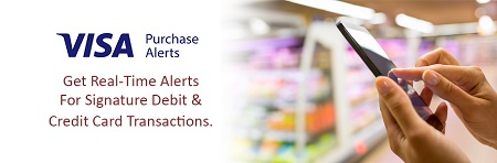 Visa® Purchase Alerts